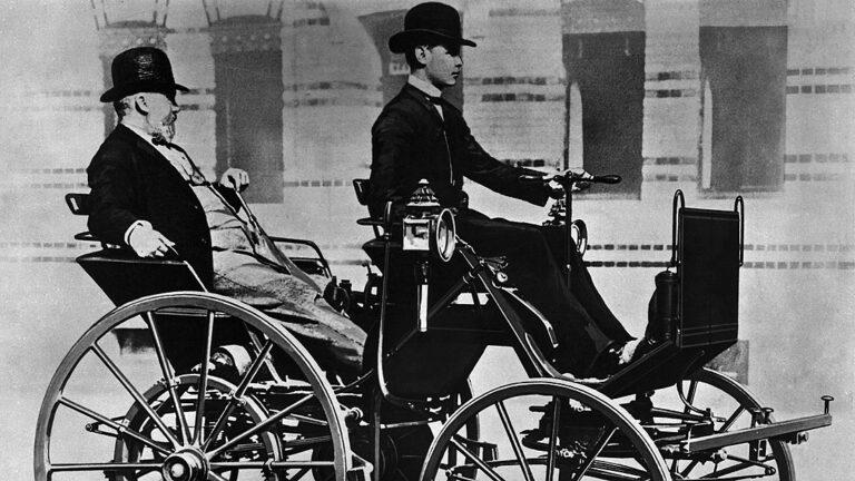 Bilar från A till Ö: Daimler uppfann (nästan) bilen