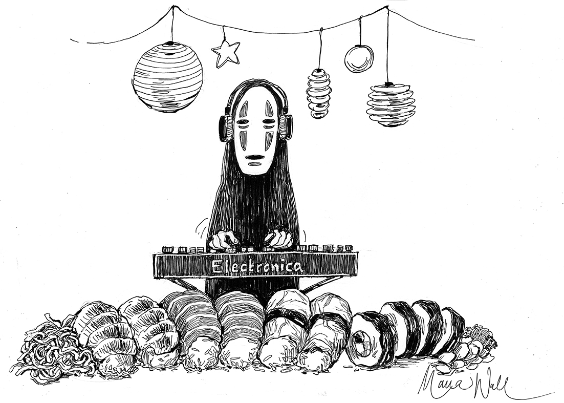 Sushi-skiva, Korvfestival eller Mexikansk Afton?