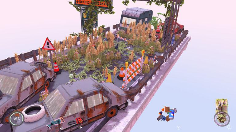 Spel: Cloud Gardens