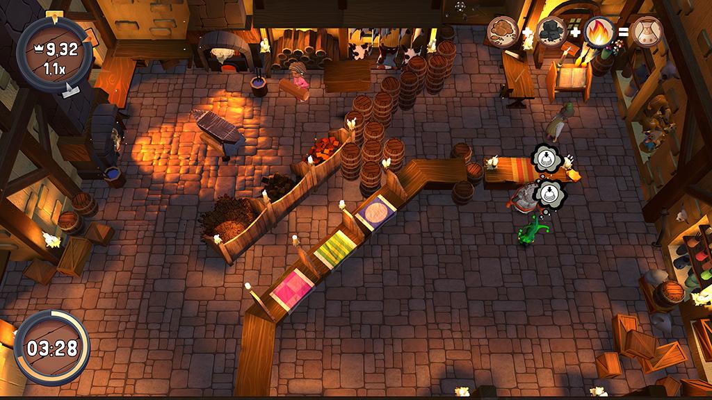 Spel: Merek's Market