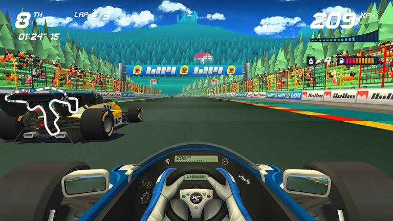 Spel: Horizon Chase Turbo – Senna Forever
