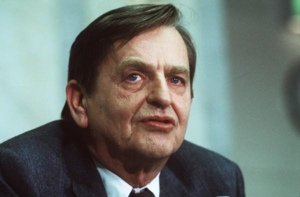 Olof Palme, fd. statsminister.