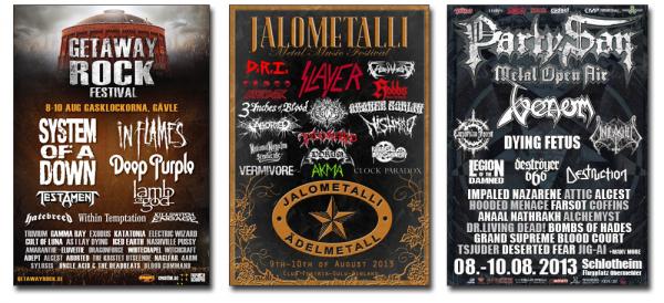 metalfestivaler