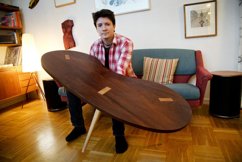 Magnus Olsson , älskar att snickra *** Local Caption ***