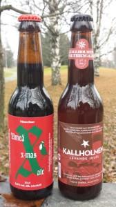 Kallholmen levande julöl_Umeå Xmas Ale