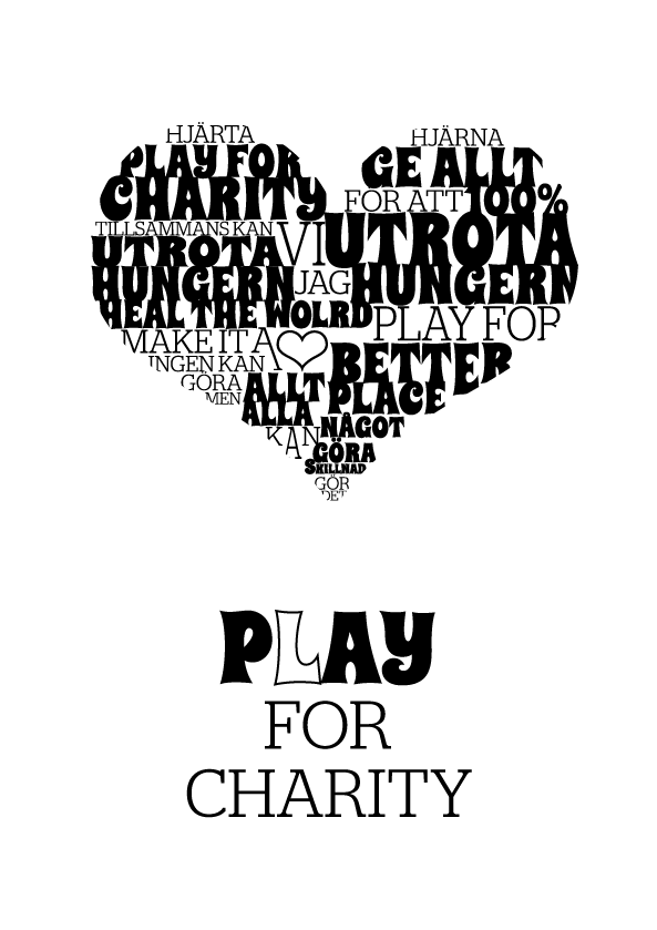 play for charity