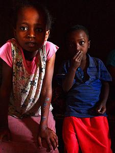 Barnen i hyddan