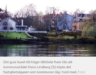 Vet media verkligen vilket hus Hans Lindberg köpt