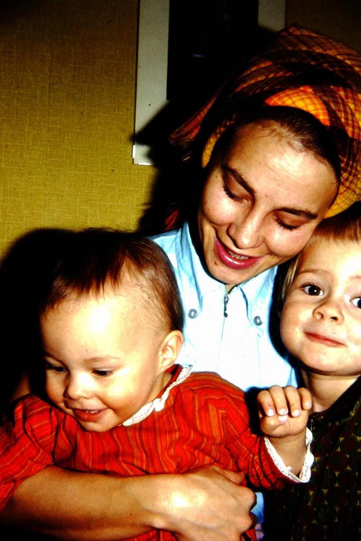 Mamma och barnen