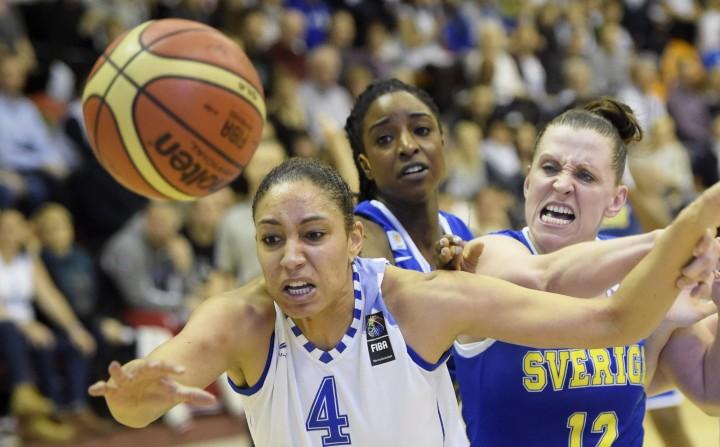 Basketball FIBA EuroBasket Women 2017 qualification Finland vs Sweden