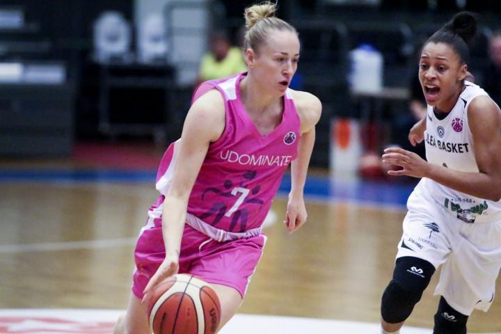 Santa Okockyte. Basket: Eurocup Luleå-Umeå