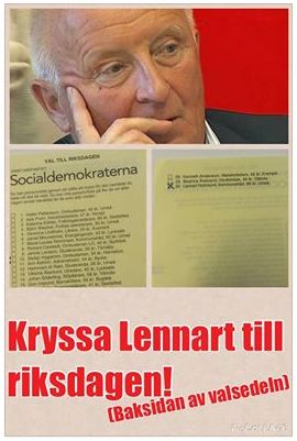 Lennart till riksdagen