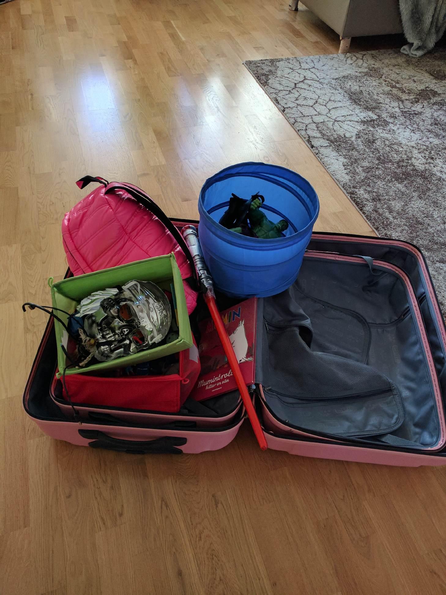 Praktisk packning