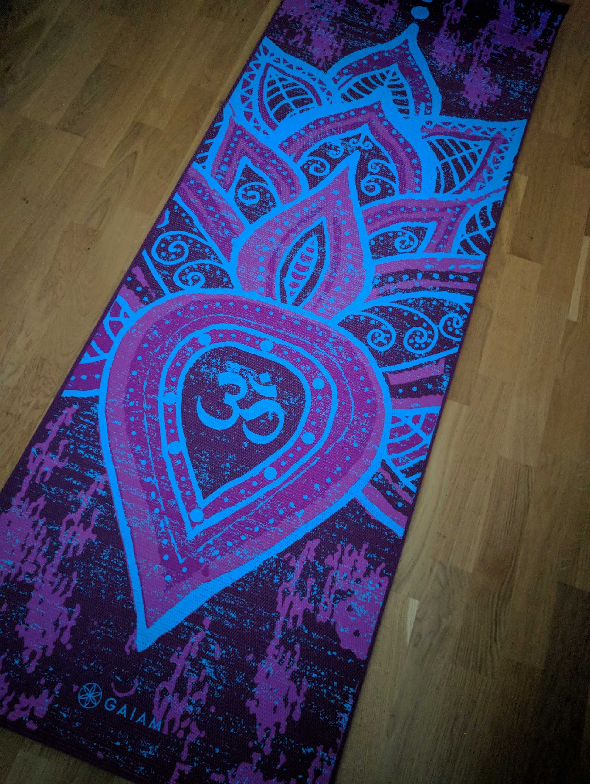 Alldeles ny yogamatta