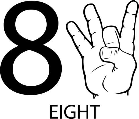 asl-number-eight-coloring-page