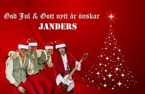 Julkort Janders