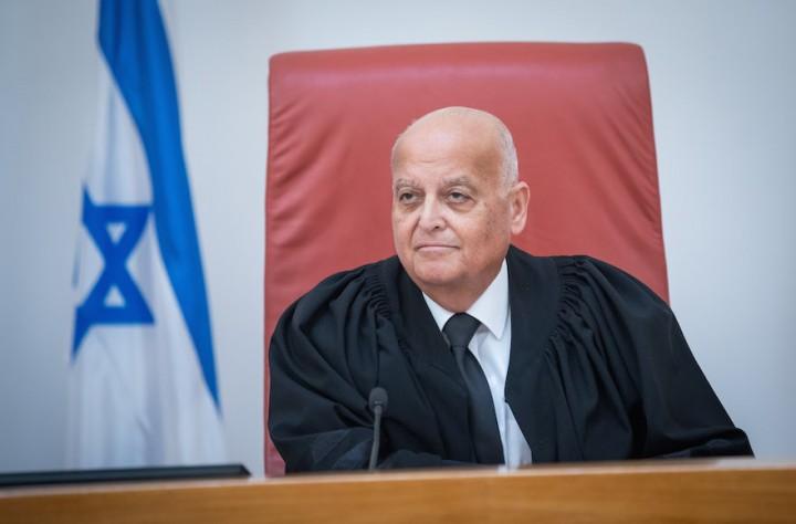 Salim Joubran, domare och vice ordförande i Högsta domstolen i Israel.