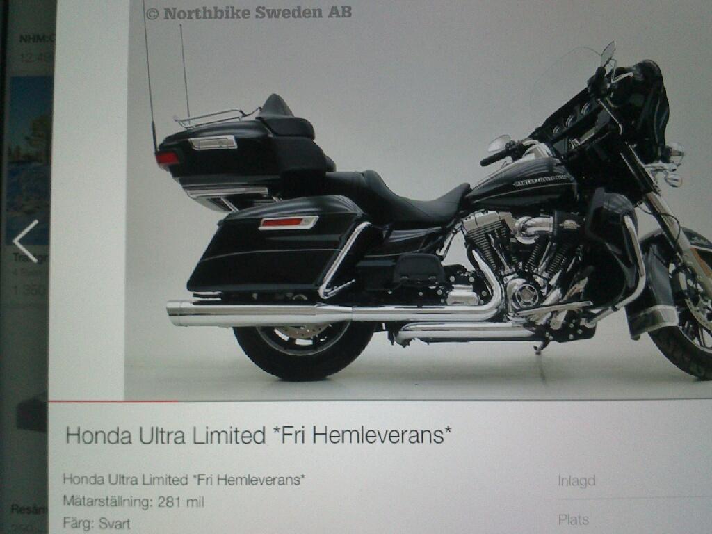 Northbike vill nog sälja Honda istället om...