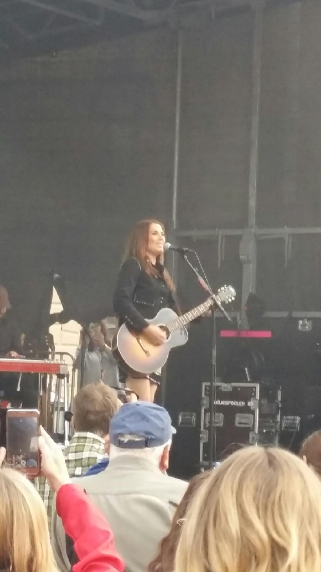 Jill Jonsson på scen