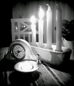 ljuset svartvitt