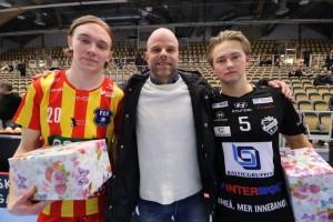 Ludwig Svensson (höger) Foto: Magnus Andersson