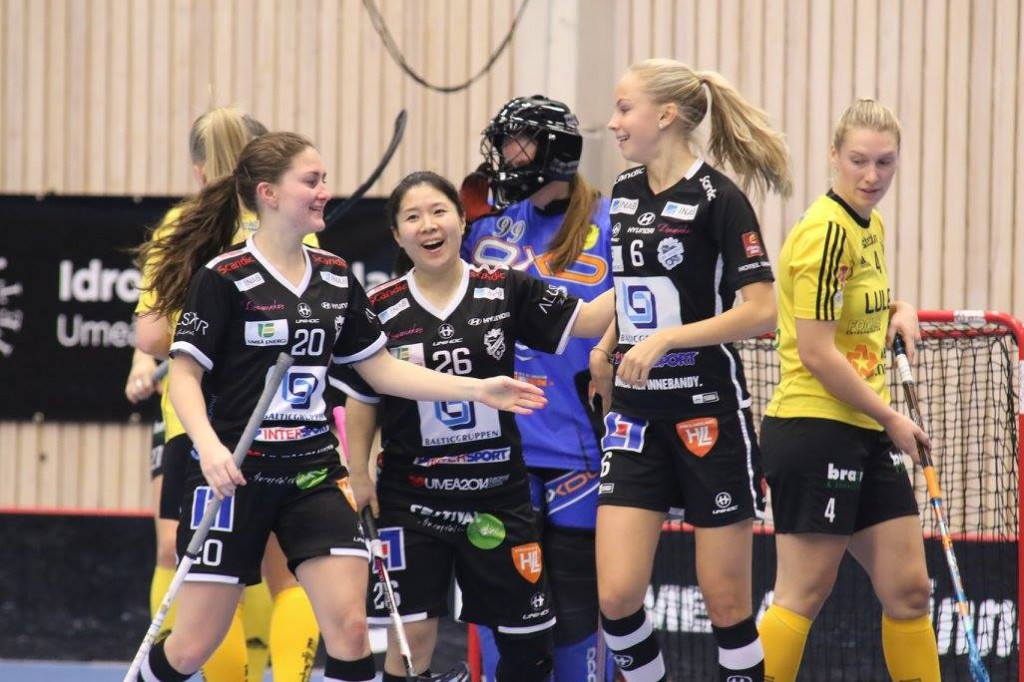 Clara Johansson, Yui Takahashi, Emma Hellberg Foto: Magnus Andersson