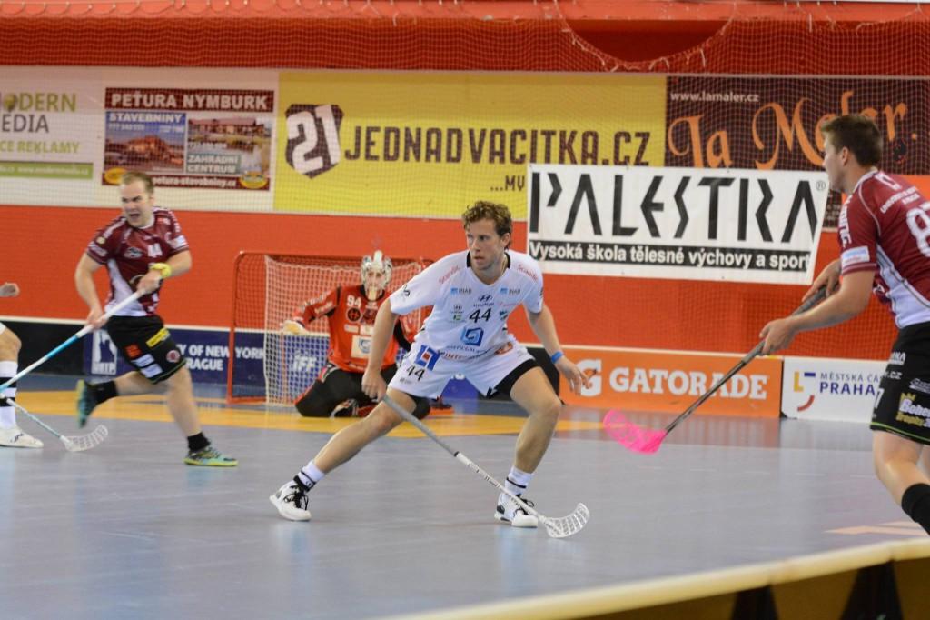 Andreas Holmgren (foto från matchen mot Sparta Praha)