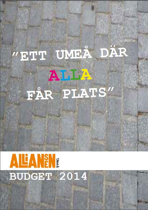 Alliansbudget2014