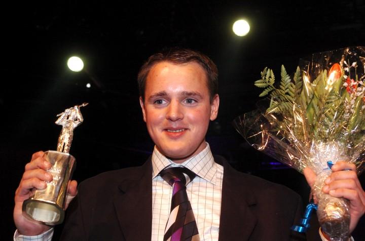 Årets Komet i Sverige 2004 - Per Linderoth Foto: Lars Jakobsson, Kanal 75.