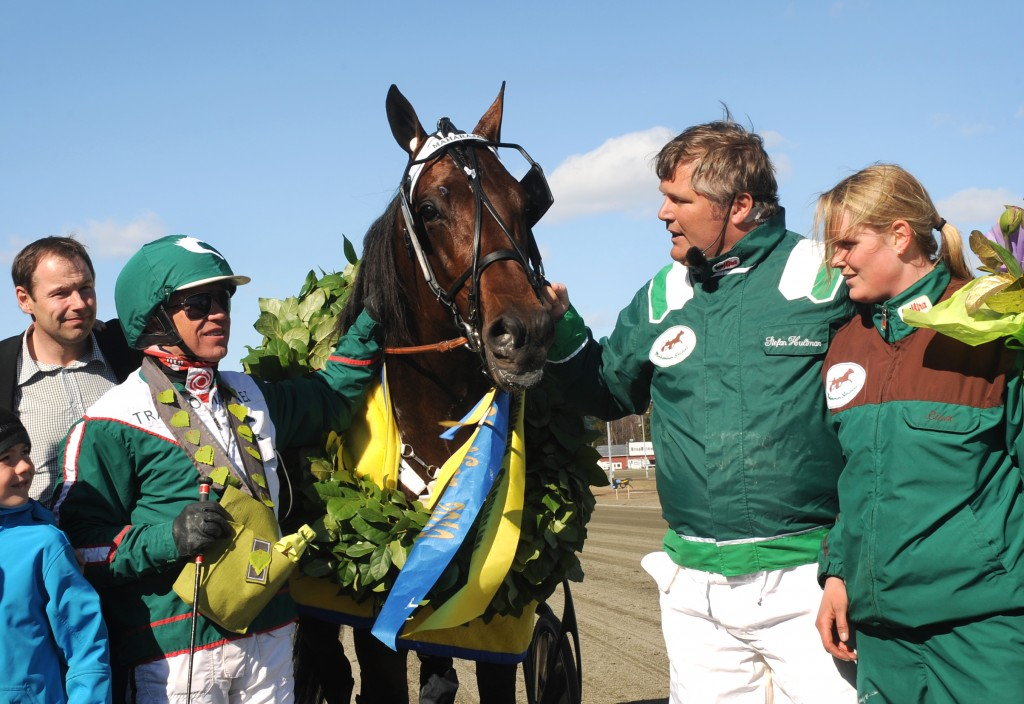 Maharajah och Örjan Kihlström vann V75-1