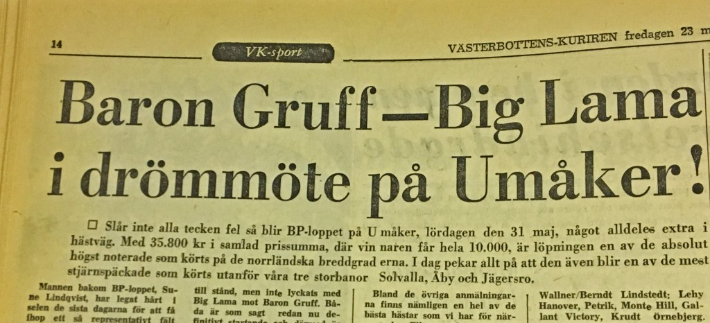 Baron Gruff-rivare