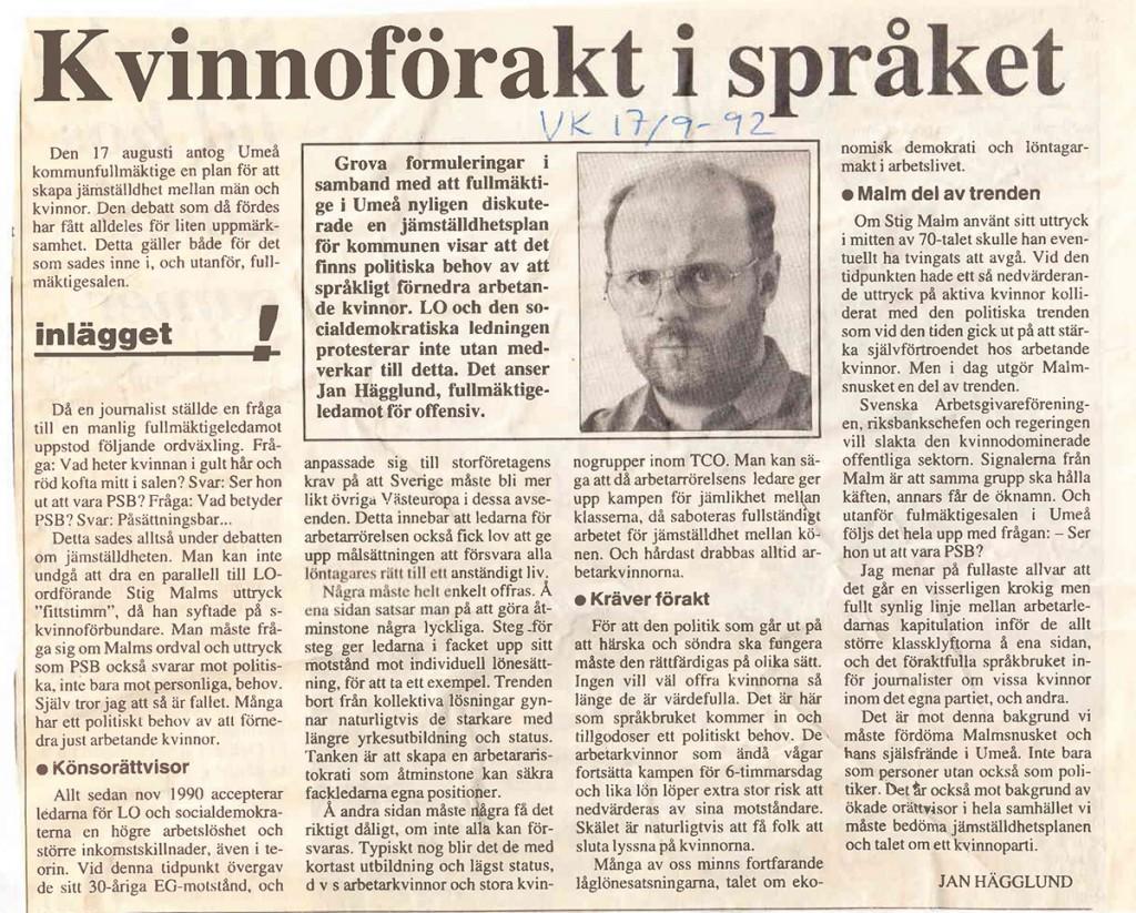 Insändare-1992