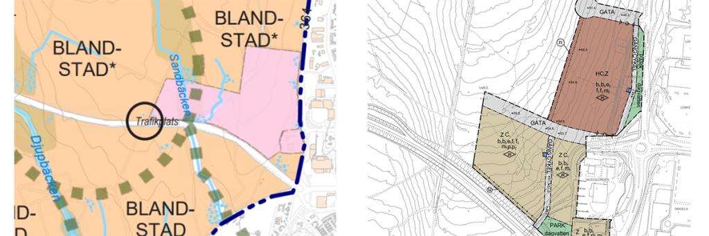 Detaljplan trafik vs fö i20
