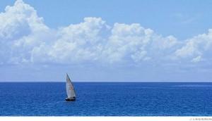 hav och frihet segelbåt