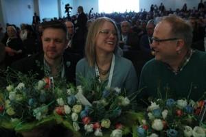 Fredrick, Kristina och Kent