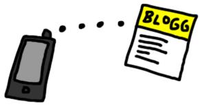 gratis-blogg-mobilen