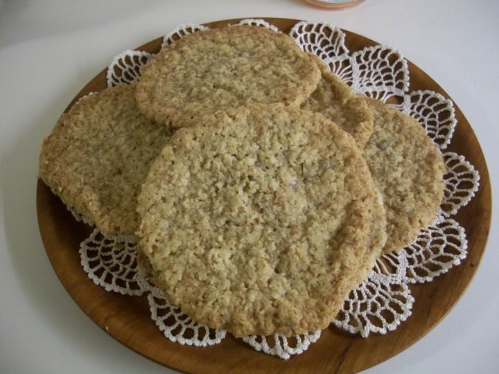 glutenfria havrekakor recept
