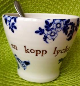 En kopp lycka...
