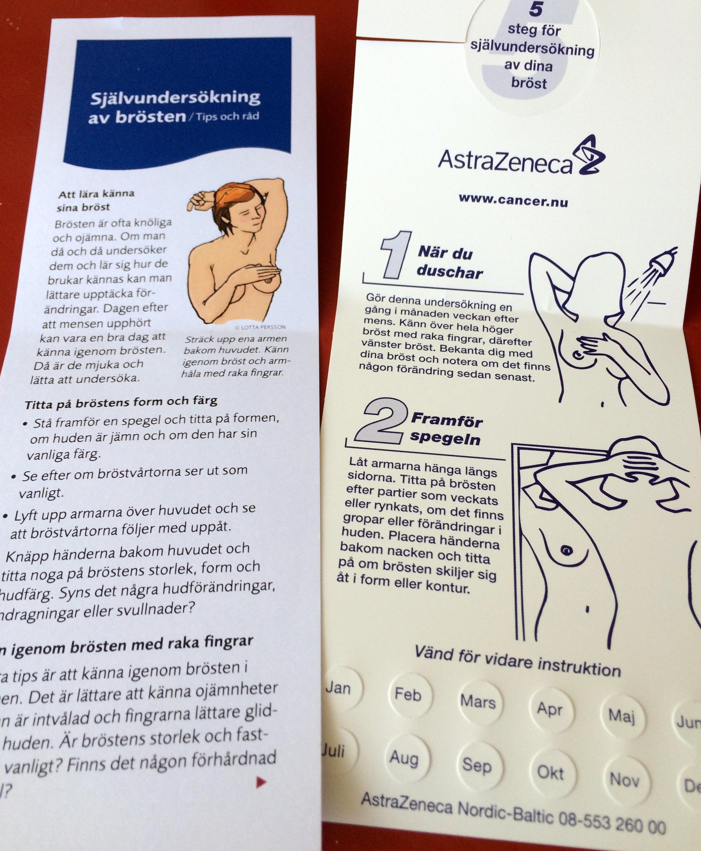 Varfor brakar man om mammografin