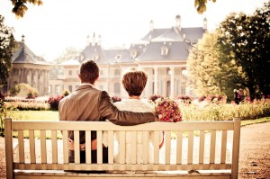 kärlek vid hus