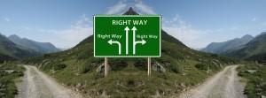 rätt väg