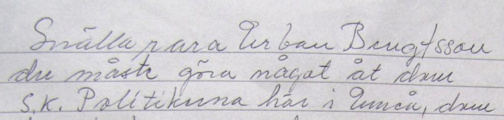 Nanna brev 1