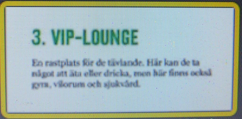 Nanna VIP-lounge