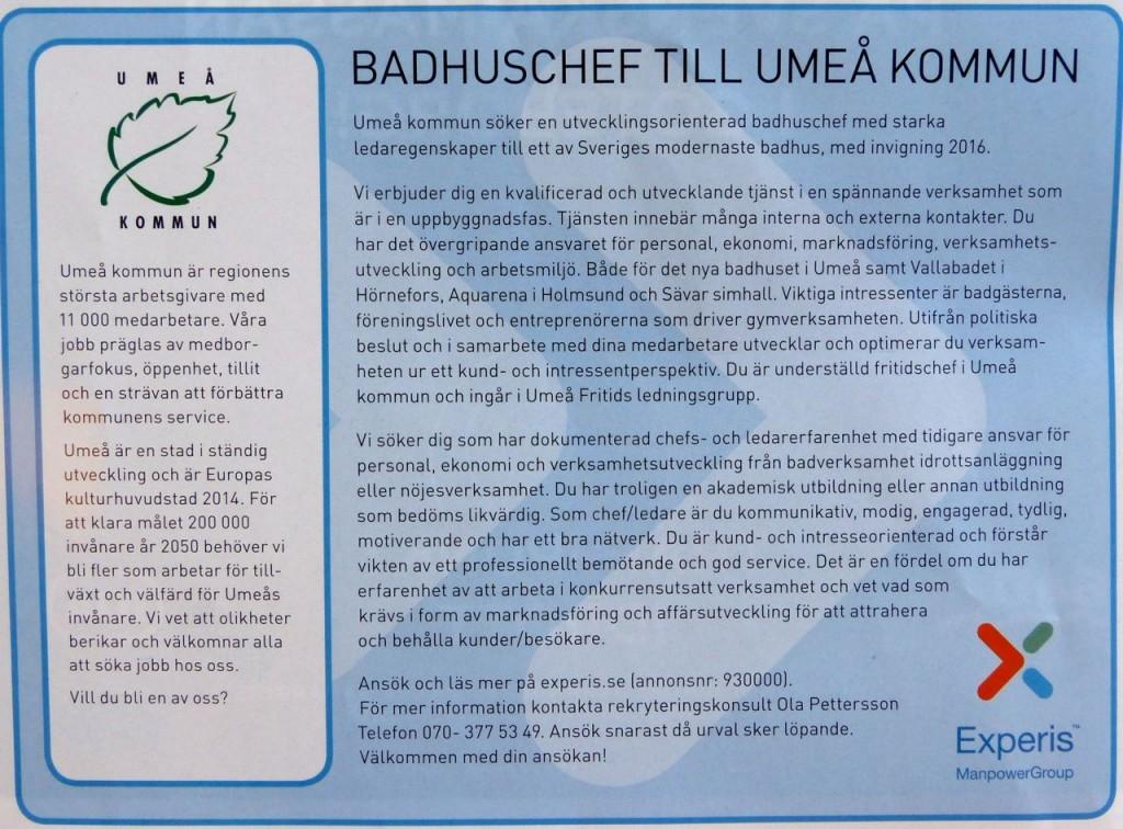 Nanna badhuschef annons