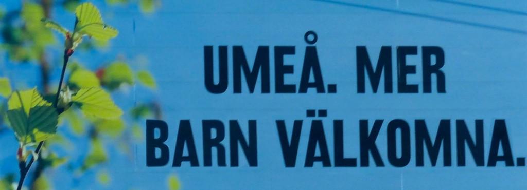 Umeå - Mer barn välkomna 3