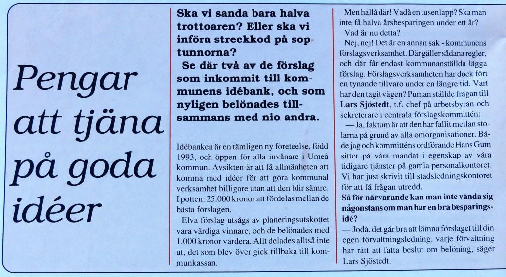 Idébank Umeå 1