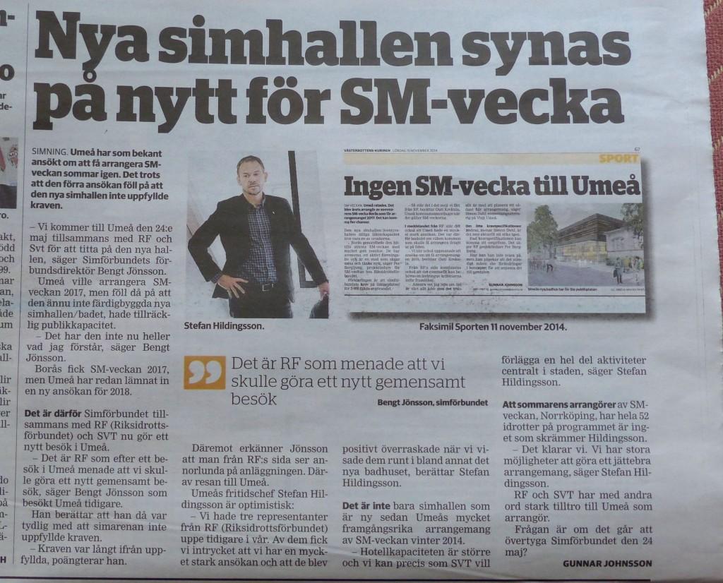 Nanna SM-vecka VK