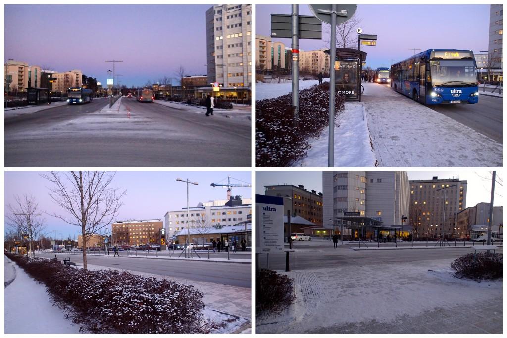 Nanna NUS busshållplats b
