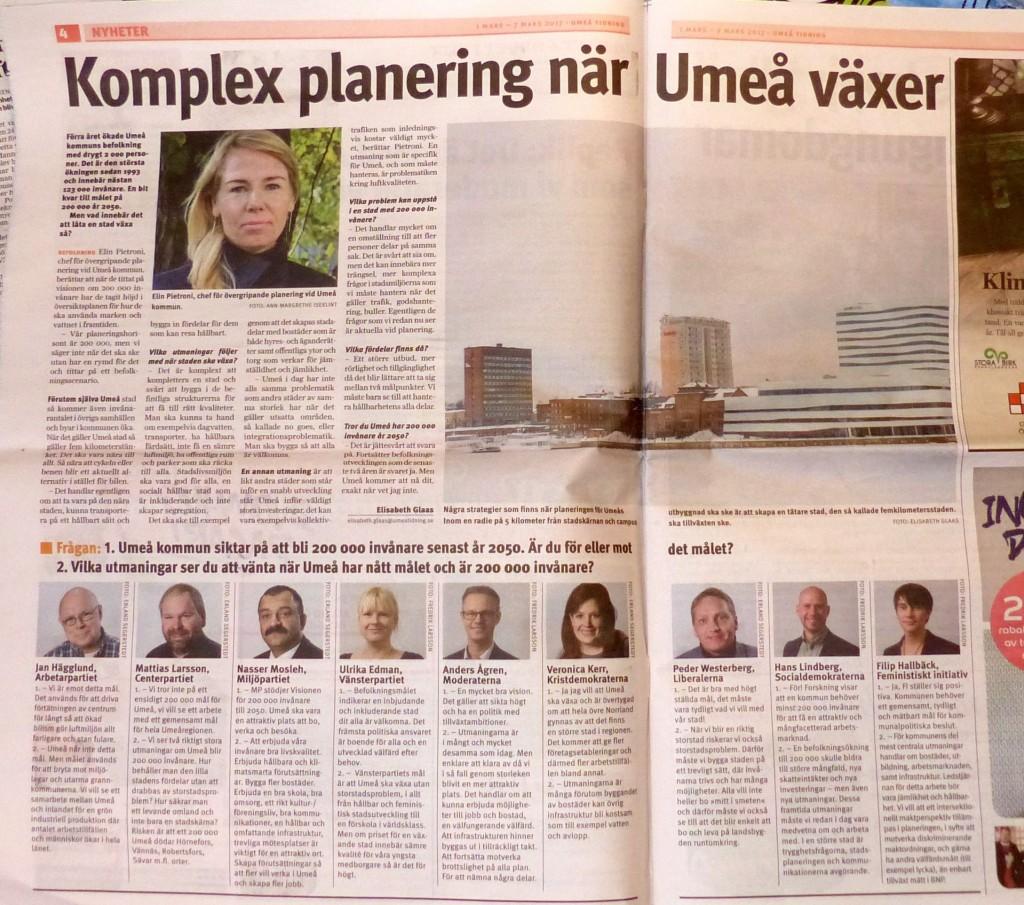 200 000 Umeå Tidning