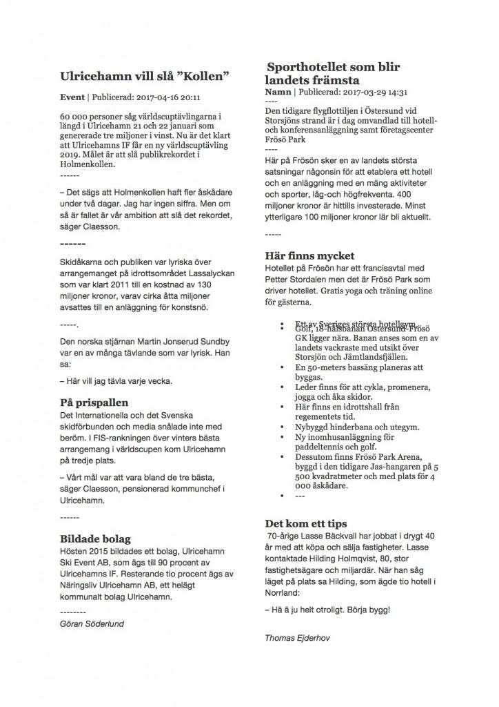Ulricehamn Östersund pdf
